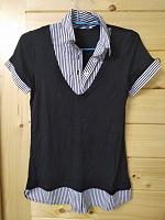 Отдается в дар Блузка/футболка-обманка
