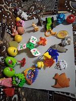 Отдается в дар игрушки киндеры детям