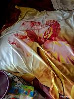 Отдается в дар Атласный комплект постельного белья