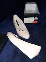 Отдается в дар туфли женские бежевые р.35