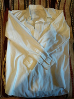 Отдается в дар Рубашка мужская белая