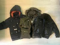 Отдается в дар 3 куртки на мальчика 2-3 лет