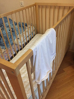 Отдается в дар Кроватка для младенца