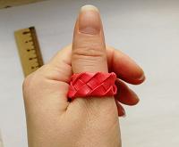 Отдается в дар Плетеное кольцо