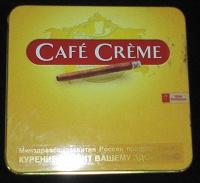 Отдается в дар Фабричный жестяной портсигар «Café Crème»