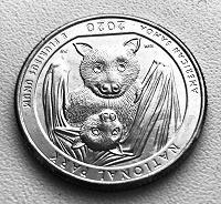 Отдается в дар Монета с мимишной мышкой :-)