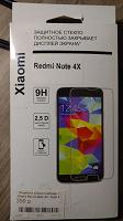 Отдается в дар Защитное стекло на Redmi Note 4X