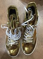 Отдается в дар Блестящие ботинки