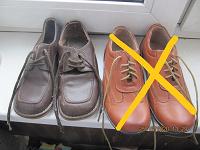 Отдается в дар ботинки школьные 32р