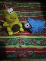 Отдается в дар Резиновые игрушки