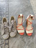 Отдается в дар Босоножки, туфли и кеды