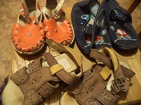 Отдается в дар Обувь разная от 4-6 лет на мальчика