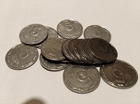 Отдается в дар Монеты-пятачки