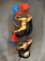 Отдается в дар Игровой набор «лошадки»
