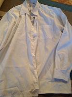 Отдается в дар Рубашка мальчику 36/37, белая для подростка в школу