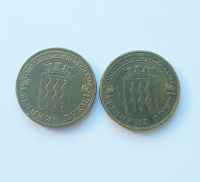 Отдается в дар Монеты «Города воинской славы»: Великие Луки (осталась одна)