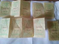Отдается в дар Билеты на транспорт из СССР в коллекцию