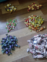 Отдается в дар Разные конфеты