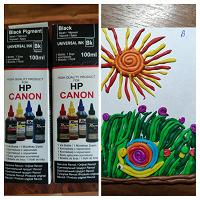 Отдается в дар Краска для принтера HP Canon