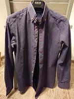 Отдается в дар Рубашка мужская Under Blue (L)