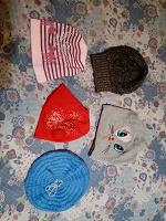 Отдается в дар Осенние шапочки
