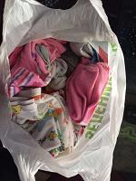 Отдается в дар Пакет с вещами для ребенка от 6 мес. до 1.5 года