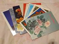 Отдается в дар Советские открытки (сборная солянка)