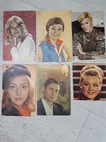 Отдается в дар Открытки СССР с фото артистов
