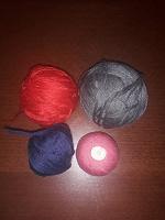 Отдается в дар Клубки для вязания