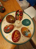Отдается в дар Тарелка для пасхальных яиц