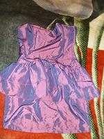 Отдается в дар платье вечернее с баской р.44-46