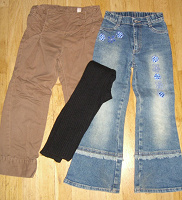 Отдается в дар штаны на рост 120+