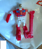 Отдается в дар робот-трансформер игрушка