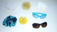 Отдается в дар Резинки для волос, заколки, солнечн.очки