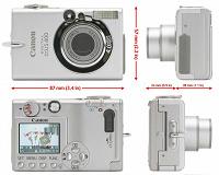 Отдается в дар Canon Digital ixus 400