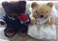 Отдается в дар Мишки Тедди-жених и невеста