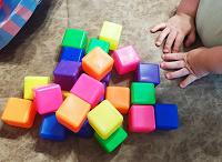 Отдается в дар Кубики пластиковые