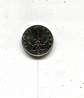 Отдается в дар В коллекцию — 1 крона 1993 Чехия