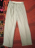Отдается в дар Легкие мужские брюки, 46