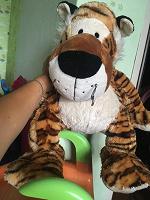 Отдается в дар Тигр плюшевый