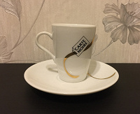Отдается в дар Кофейная пара — чашечка и блюдце
