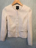 Отдается в дар Кардиган или курточка белая новая