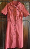 Отдается в дар Платье с коротким рукавом, на пуговицах, с карманами