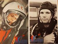 Отдается в дар Юрий Гагарин на открытках