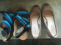 Отдается в дар Туфли, сандали 35-36