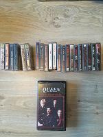 Отдается в дар коллекция аудиокассет «Алиса», видео Queen