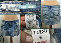 Отдается в дар Юбка мини джинсовая стрейч летняя, р-р 46