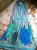 Отдается в дар Красивое платье без рукавов.