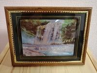 Отдается в дар Картинка с водопадом
