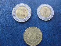 Отдается в дар Три с половиной песо Мексики